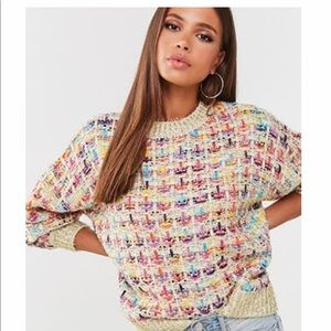 Multi ripped sweater